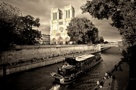 The Seine and ND of Paris